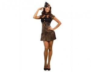 disfraz de sargenta sexy