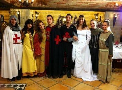 disfraces medievales para bodas