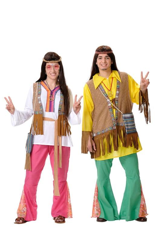 Disfraces hippies y de disco con paz y amor for Disfraces de los anos 60