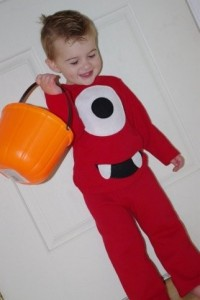 disfraz de monstruo infantil casero