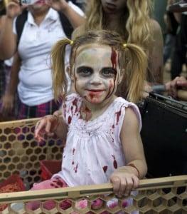 disfraz de zombie niña casero