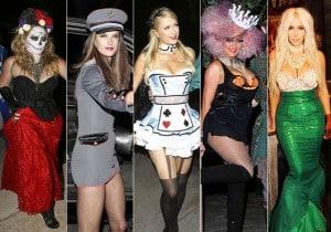 disfraces de halloween varios famosos