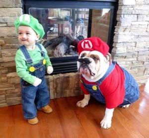 disfraz de mario bros para perro