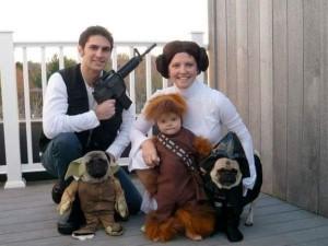 disfraz de star wars para familias