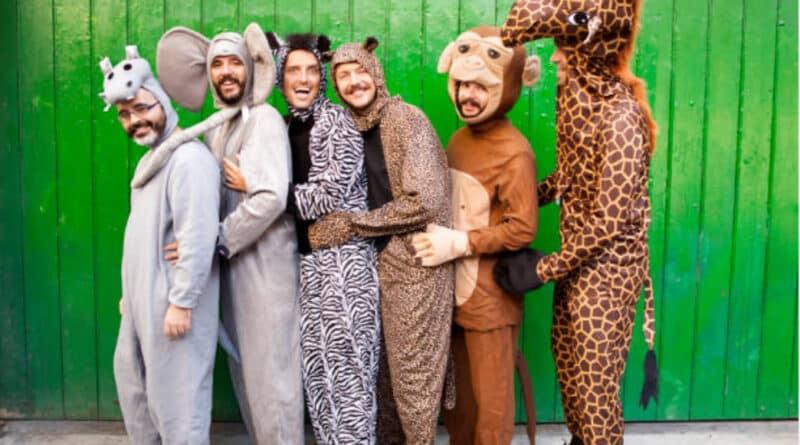 Disfraces en grupo de Animales para Carnaval  0979d90cd620