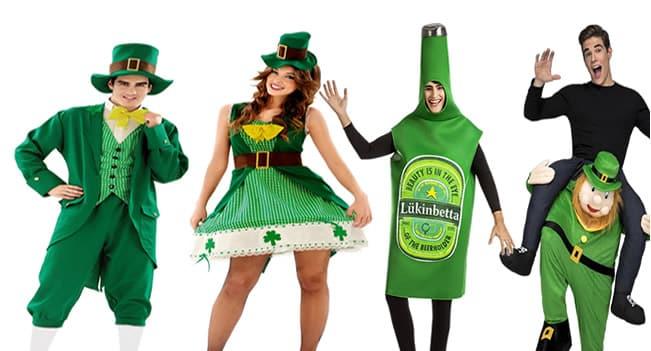 Ideas de disfraces para la fiesta de san patricio.
