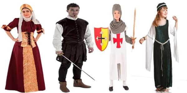 Disfraces Medievales, elige tu disfraz para tu fiesta