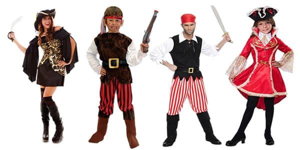 Como elegir un disfraz pirata y decorar una fiesta pirata
