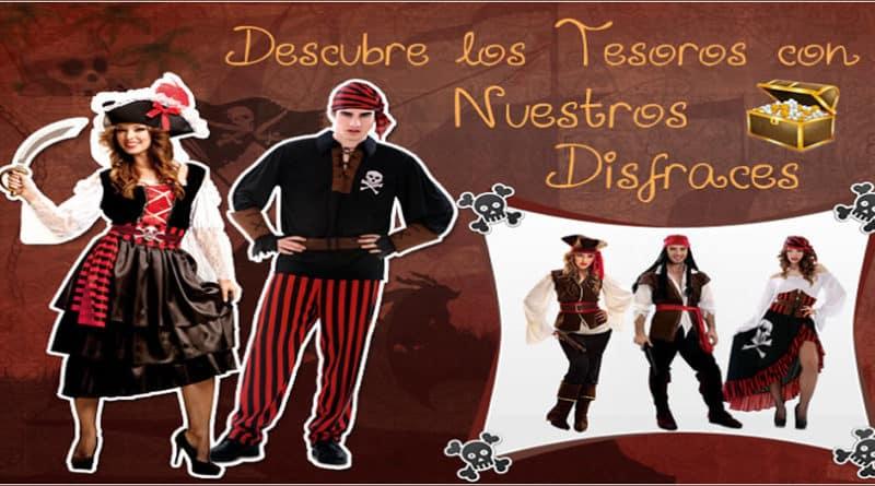 fiestas de disfraces piratas