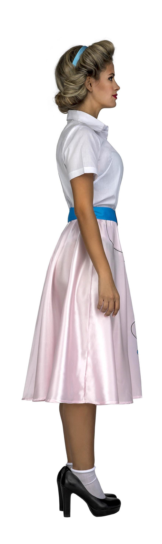 disfraz de pink lady rosa mujer