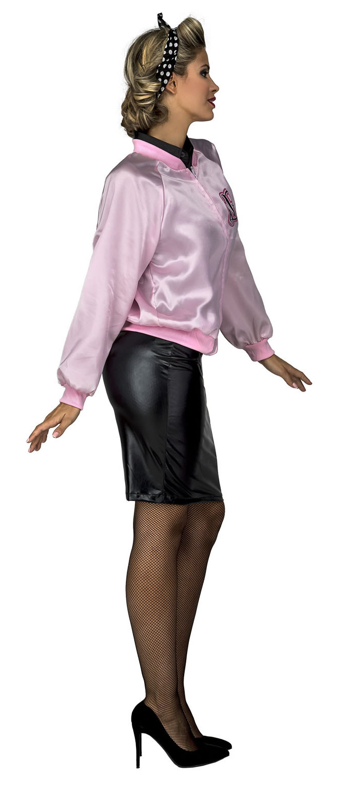 chaqueta disfraz pink ladies mujer