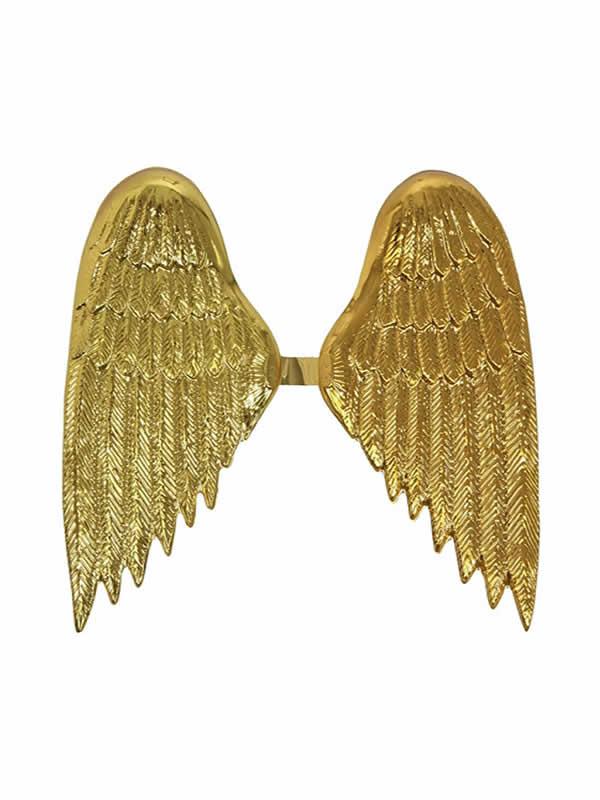 alas de angel doradas plastico infantil 37x40 cm
