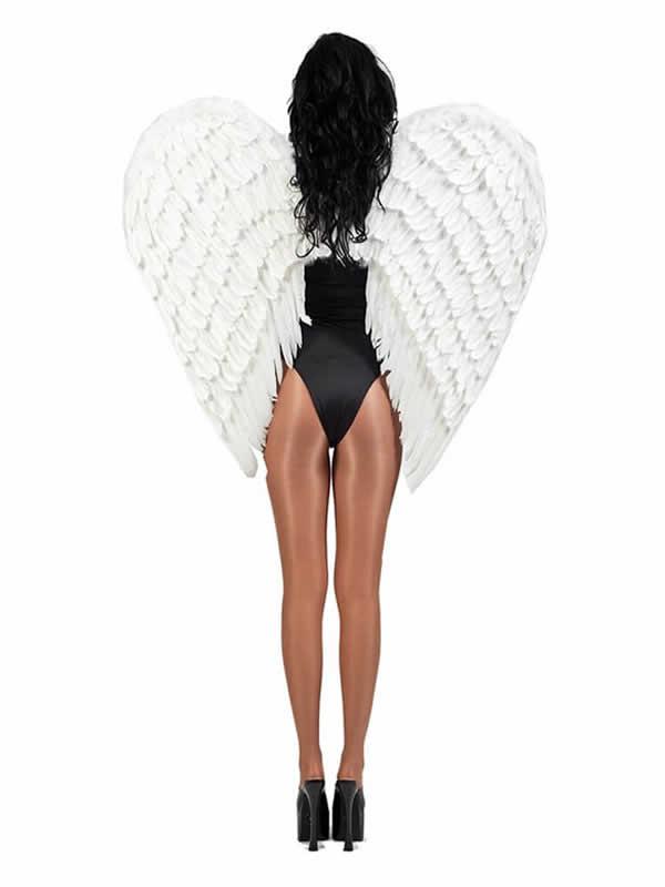 alas de plumas gigantes varios colores 100 x 80 cms