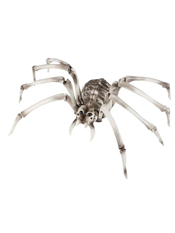 arana colgante esqueleto 82 x 48 x 22 cm