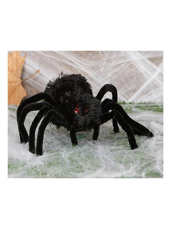 araña negra 28 cm
