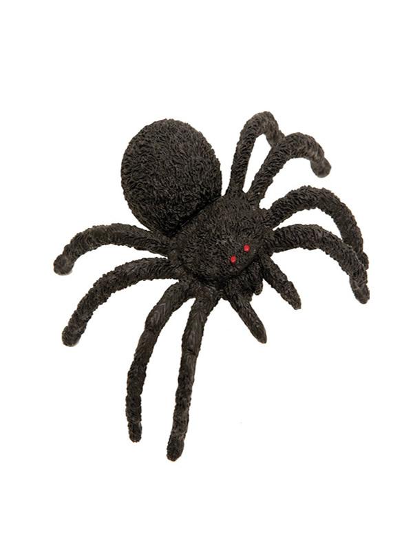 arana negra para halloween