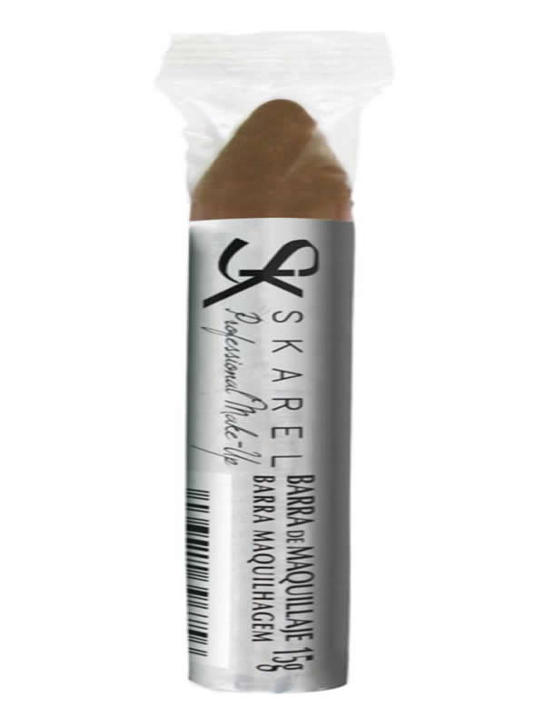 barra maquillaje marron