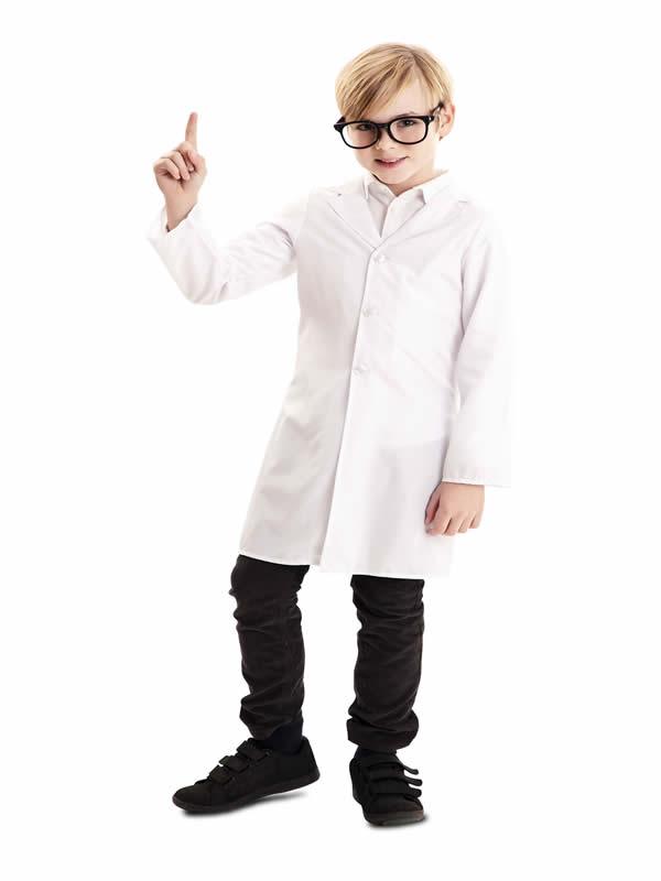 bata blanca de medico infantil