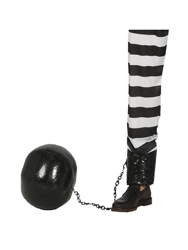 bola de preso hinchable