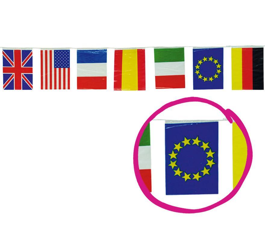 bolsa de 50m de bandera Internacional 20x30cm plastico