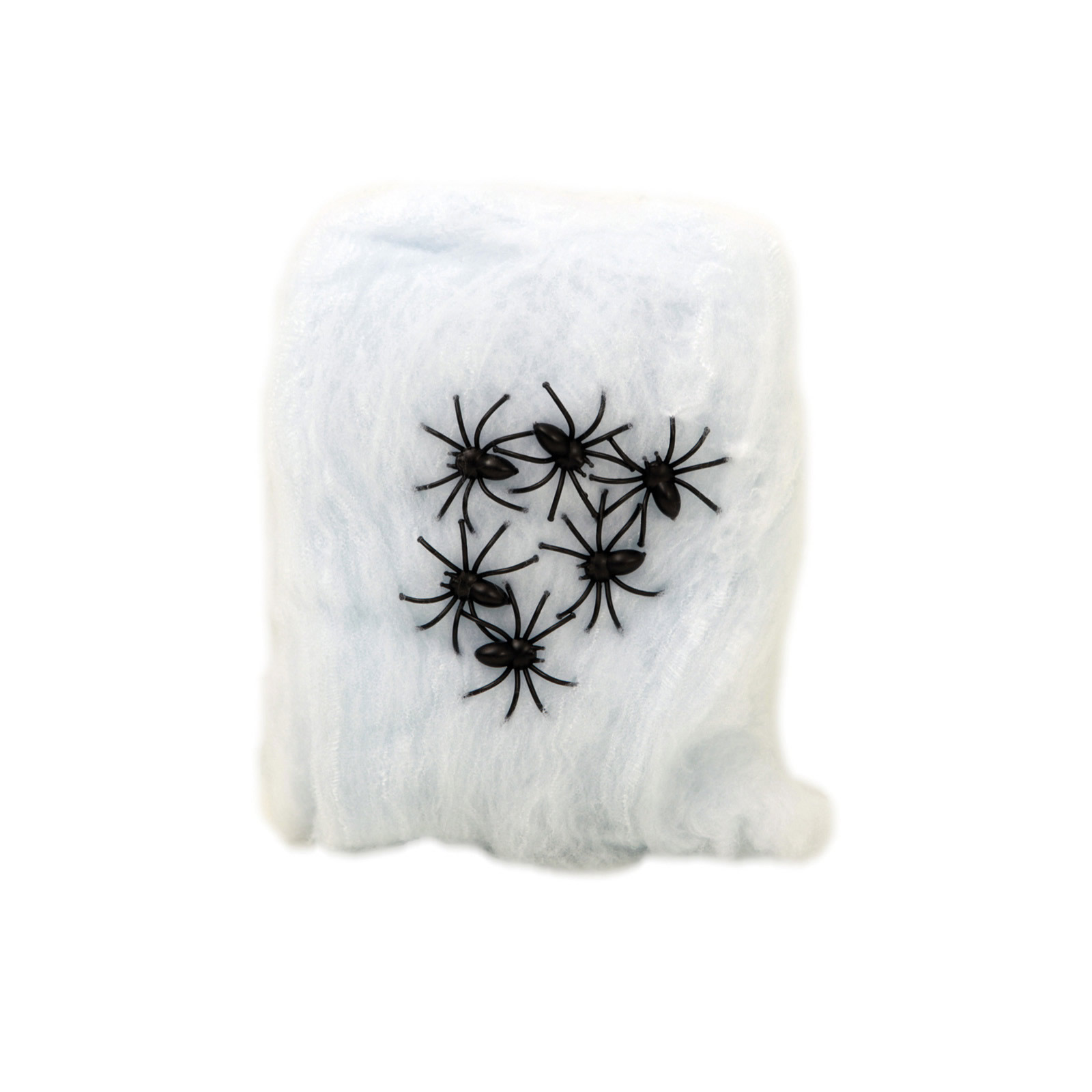 3 bolsas de telarañas blanca 80 gramos