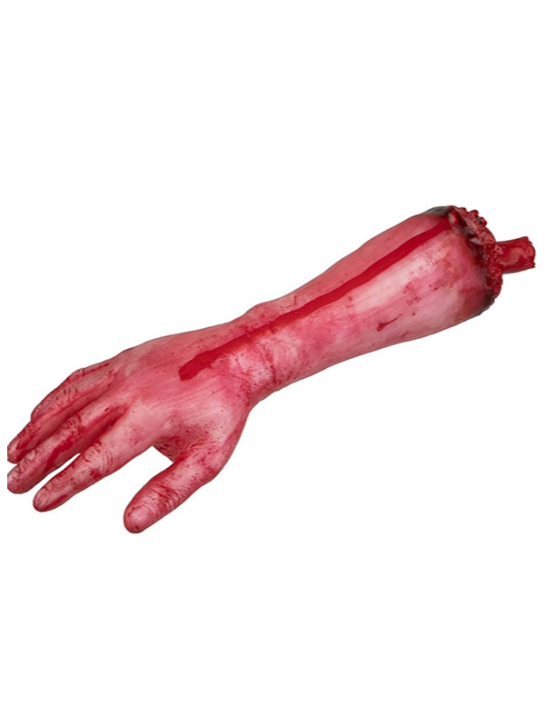 brazo amputado sangriento 40x12 cm