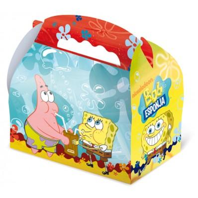 25 cajas de bob esponja de 15 x 10 x 8 cm