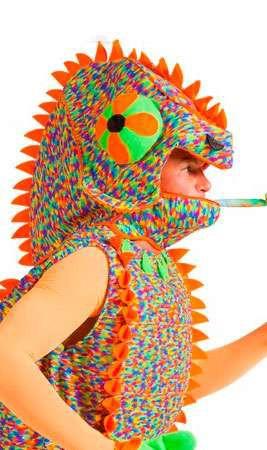 disfraz de camaleon para hombre adulto
