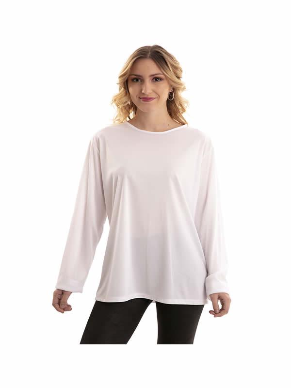 camiseta blanca adulto