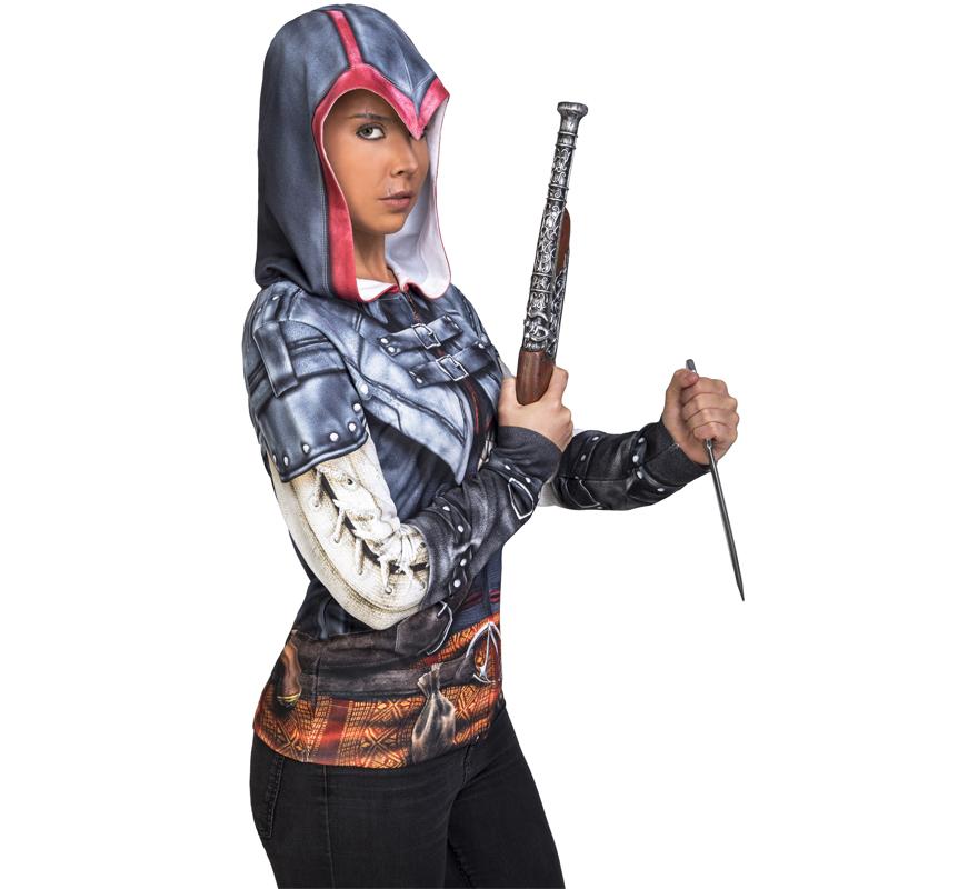 camiseta disfraz de aveline assassins creed mujer 4