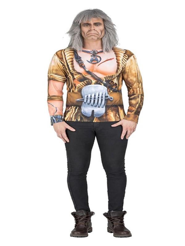 camiseta disfraz de khan de star trek hombre