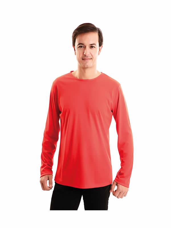 camiseta roja adulto