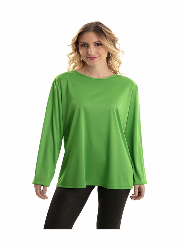 camiseta verde adulto