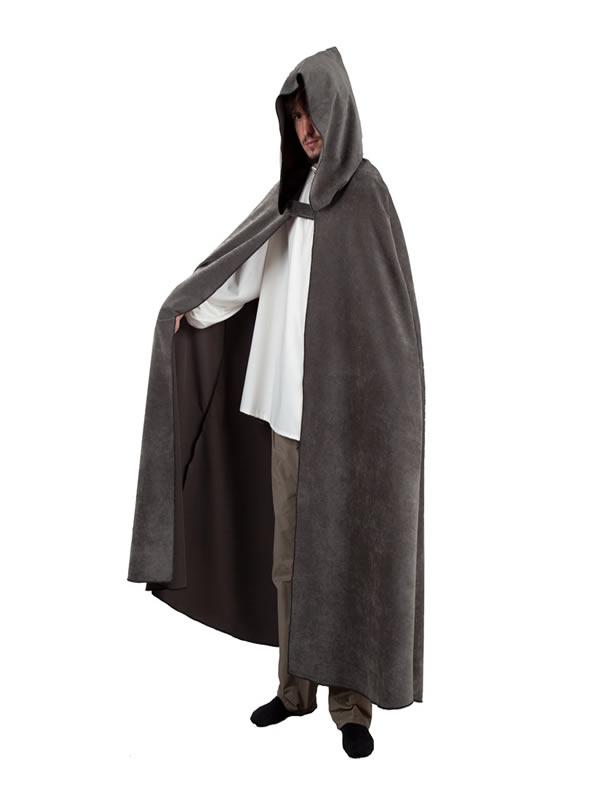 capa con capucha varios colores adulto
