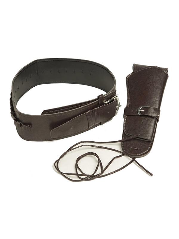 cartuchera y cinturon de vaquero de 54 cm