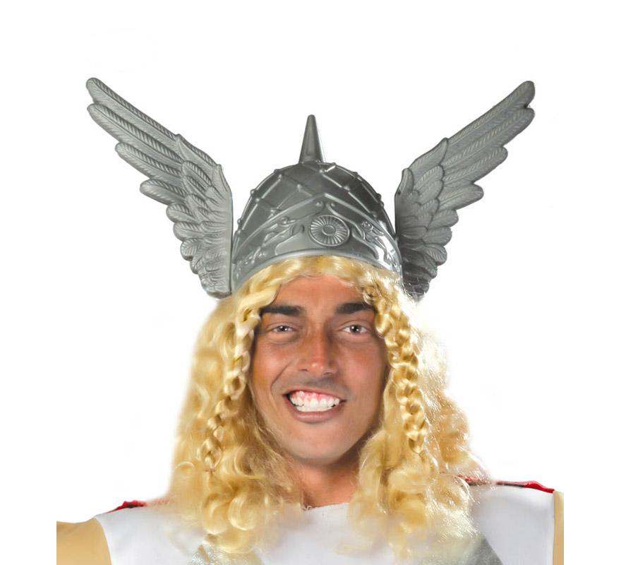 casco de barbaro con alas adulto
