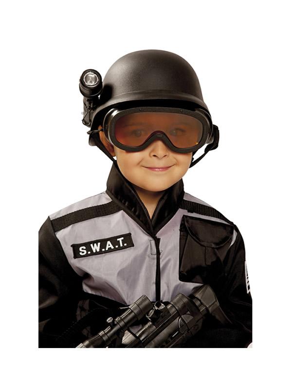 casco de policia swat