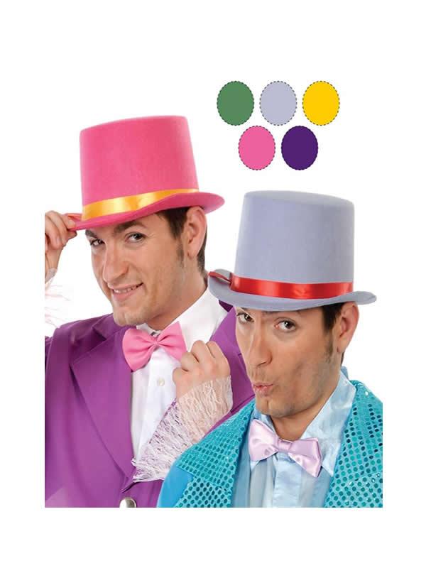 chistera fieltro colores surtidos