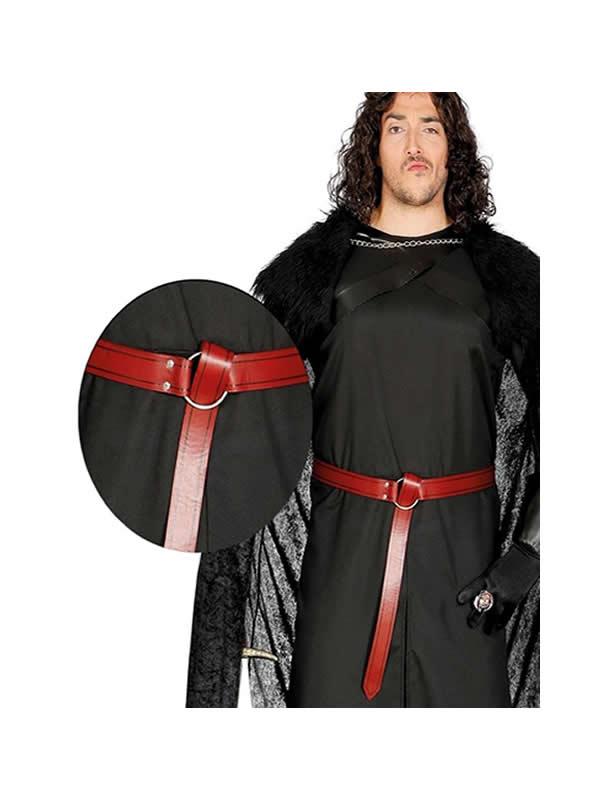 cinturon medieval adulto