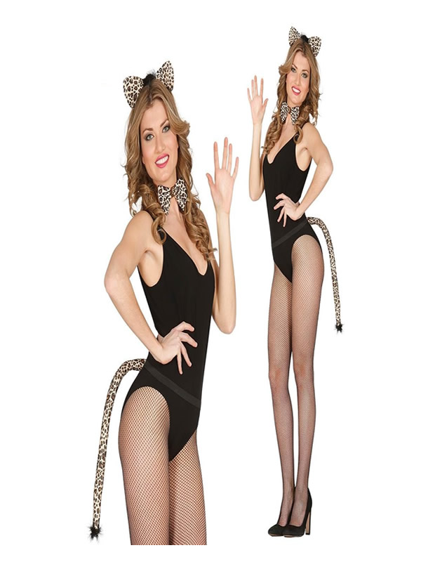 conjunto de leopardo