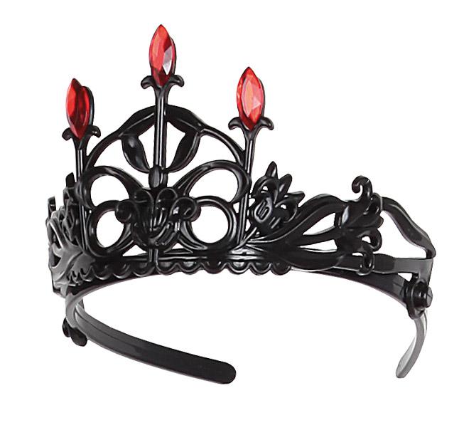corona de princesa gotica con piedras