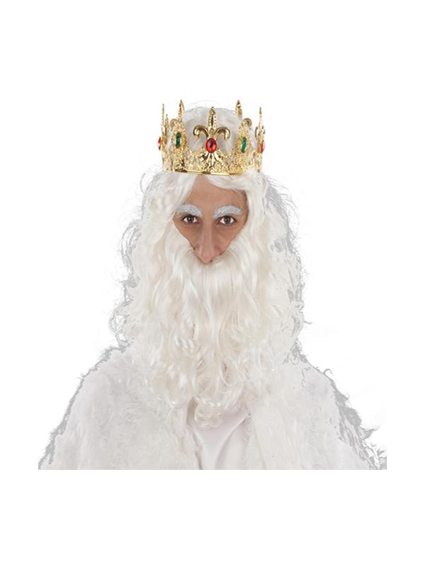 corona rey mago dorada
