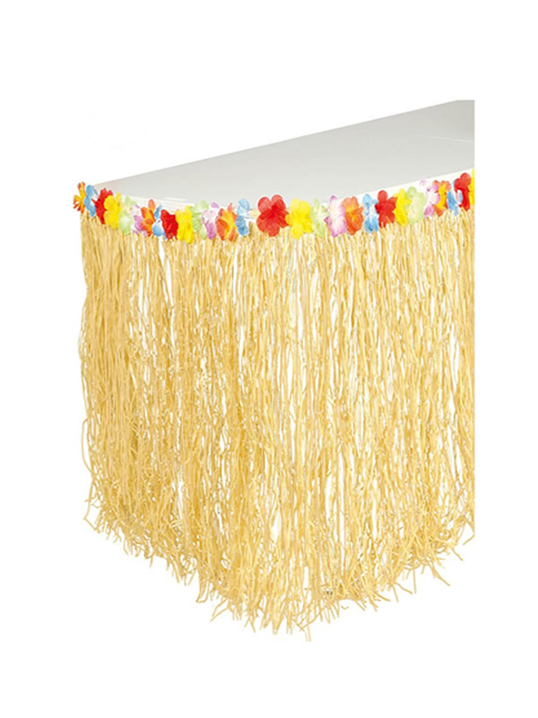 decoracion hawaiana 275 x 75 cm