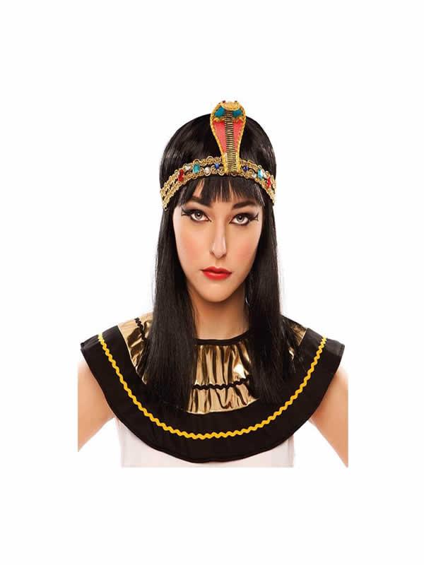 diadema de faraona con serpiente