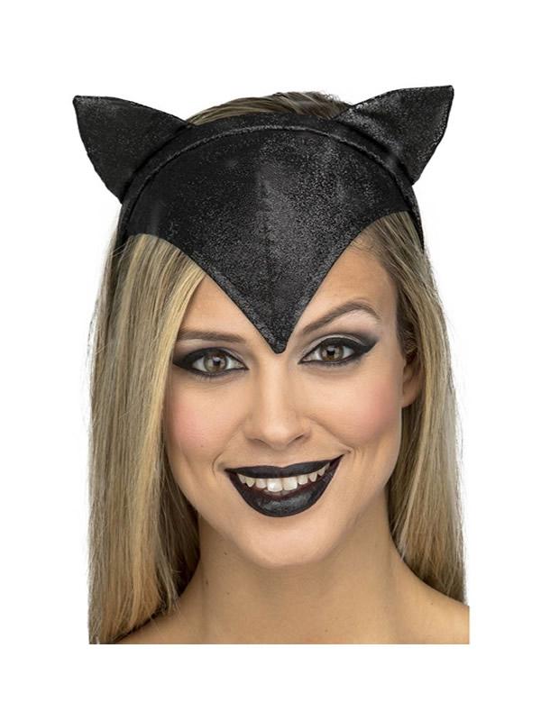 diadema de gata negra