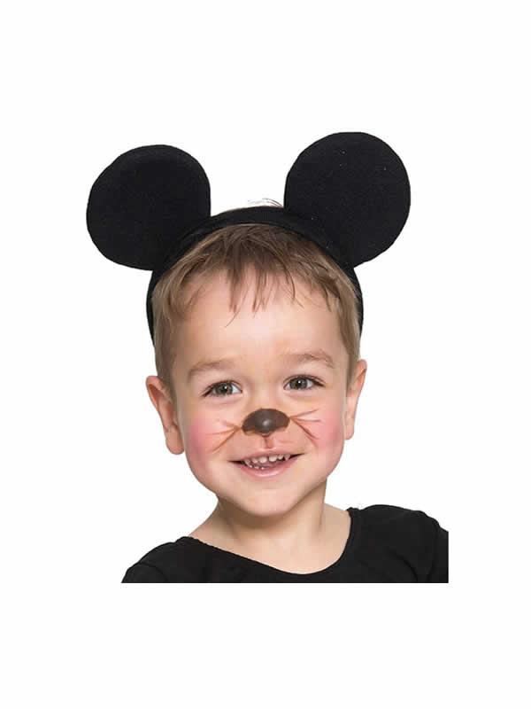 diadema de orejas ratoncito de dibujos animados