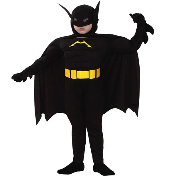 disfraz de batman infantil de superhéroe para niños