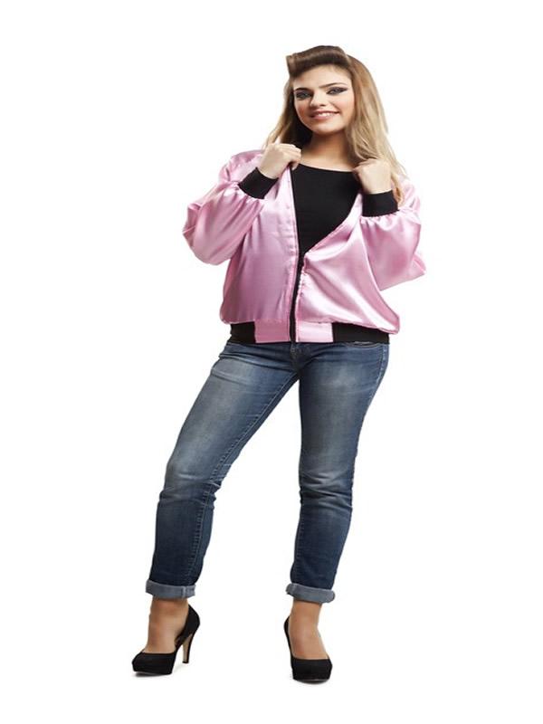 disfraz chaqueta pink lady para mujer