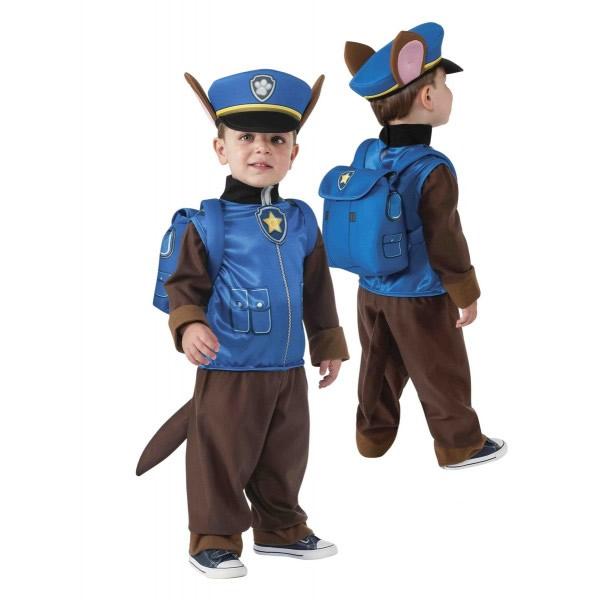 disfraz chase patrulla canina para nino varias tallas fu - Ideas para el mejor regalo de Navidad para los peques de la casa.