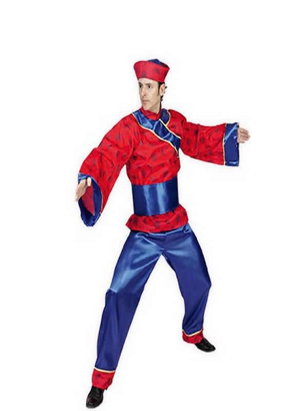 disfraz chino oriental hombre